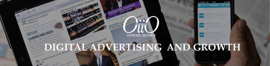 Showing digital advertisement and its growth